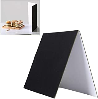 Selens 3-in-1 Photography Reflector Cardboard 29.7X21cm Folding Light Diffuser Board Background for Still Life, Product an...