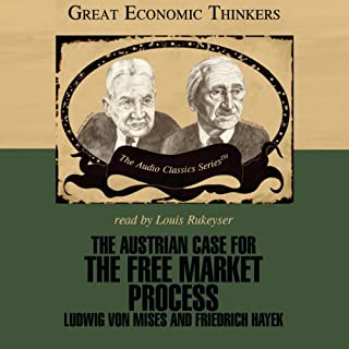 The Austrian Case for the Free Market Process cover art