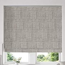 Blinds2Curtains Mixed Grey 280 cm x 160 cm Teagan Mus cmroom Roman Window Blinds