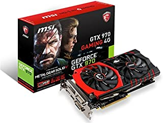 MSI GTX 970 GAMING 4G MGSV 『Twin Frozr V/OCモデル』 グラフィックスボード VD5680