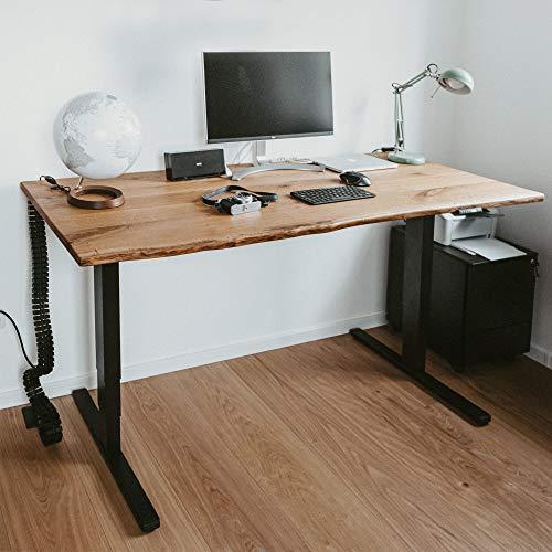 boho office® Premium Line - TÜV geprüfter, elektrisch stufenlos höhenverstellbarer Schreibtisch. Made IN Germany 4