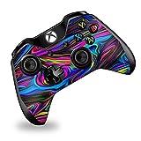 xbox controller stickers - Skin Vinyl Decal Wrap for Xbox One | One S Controller | Skins Stickers Cover | Trippy Psychedelic Neon Swirls