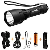 ThorFire C8s Flashlight 900 Lumens XML2 Led Light with...