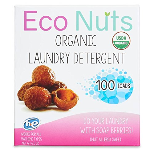 Eco Nuts USDA Organic Laundry Detergent, 6.5 Oz for 100 Loads