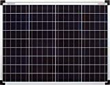 enjoy solar® Poly 50 W Panel solar policristalino, panel solar 12 V