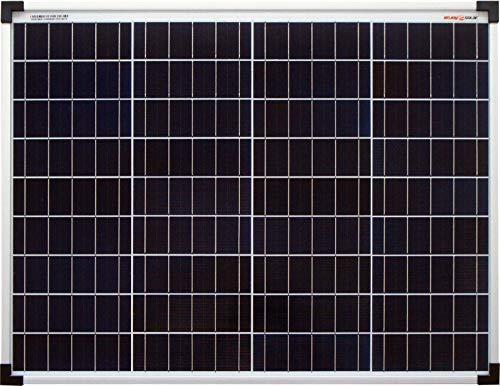 enjoysolar®, pannello solare policristallino, 50 W, 12V, modulo solare 50Wideale per giardino, camper, roulotte