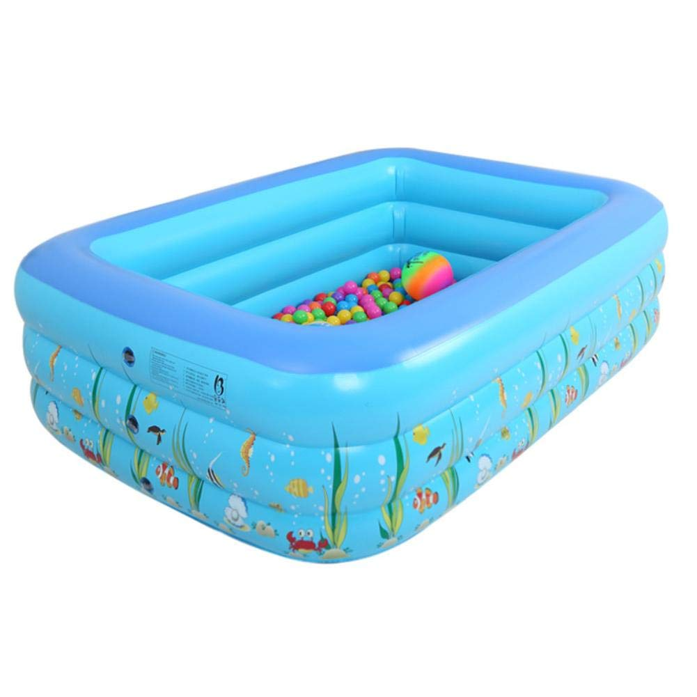 Piscina Inflable Rectangular Infantil Pequeña Interior Piscina ...