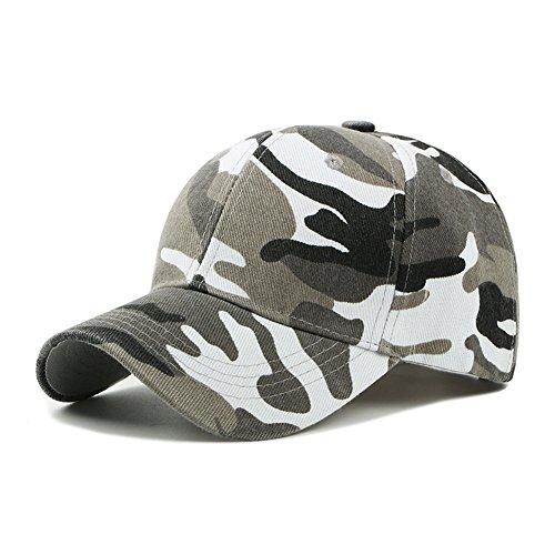 UxradG - Gorra de camuflaje militar para caza, pesca o actividades al...