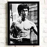 JIUJIUJIU Jungen Zimmer Dekor Poster Und Drucke Kung Fu