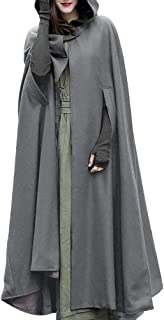 Casual Cape Hooded Cloak Maxi Fancy Cosplay Costume