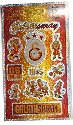 Galatasaray Istanbul Aufkleber Karte - Glitzer Aufkleberkarte GS 1905