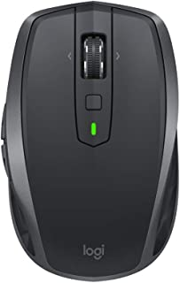 Logitech MX Anywhere 2S Wireless Mouse, Multi-Device, Bluetooth and 2.4 GHz with USB Unifying Receiver, 200 to 4000 DPI An...