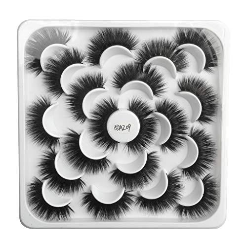 kashyk 10pair Lotus mit 5D Nerz falsche Wimpern - Preise und Erfahrungsberichte