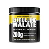 PrimaForce Citrulline Malate Powder Supplement, 200 Grams – Enhances Strength Performance /...