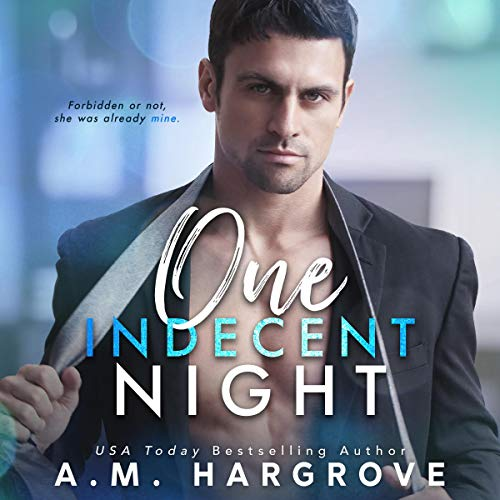 One Indecent Night audiobook cover art