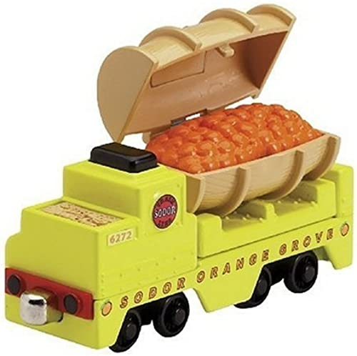RC2   Learning Curve Take Along Thomas Scented Orange Barrel Car by Learning Curve