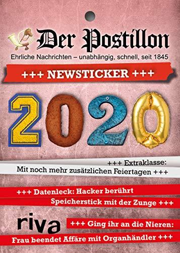 Der Postillon +++ Newsticker +++ 2020: Tagesabreißkalender
