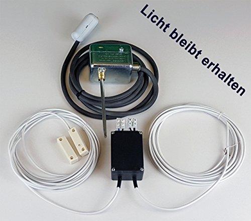 Abluftsteuerung AirCon ATW Standard Einbau Eco- Kabel mit Rauchgasüberwachung
