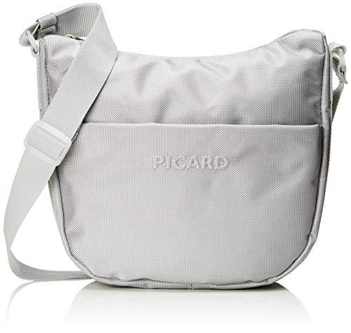 Picard Damen Hitec Umhängetasche, Silber (Silber), 26x8x30 cm