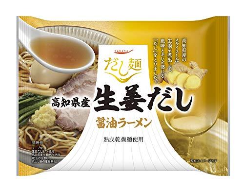 国分グループ本社 tabete だし麺 高知県産生姜だし醤油ラーメン 106g ×10個