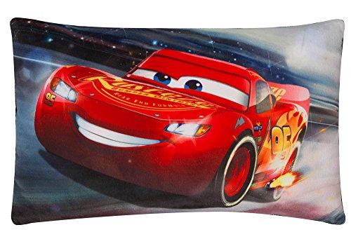 Cars 2 16271 3 Cojín de Peluche con LED Luz 40 x 26 cm, Mul