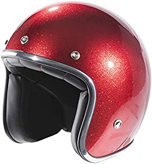 Amazon.es: cascos jet - Rojo