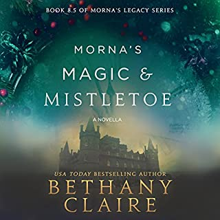 Morna's Magic & Mistletoe: A Scottish Time-Travel Romance cover art