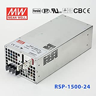 Meanwell RSP-1500-24 Power Supply - 1500W 24V 63A - Parallel