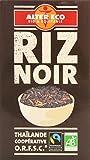 Alter Eco Riz Noir Bio et Equitable 500 g - Lot de...