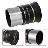 Astromania 1.25' 15mm 66-Degree Ultra Wide Angle Eyepiece for Telescope