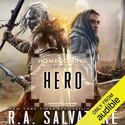 Hero: Legend of Drizzt: Homecoming, Book III
