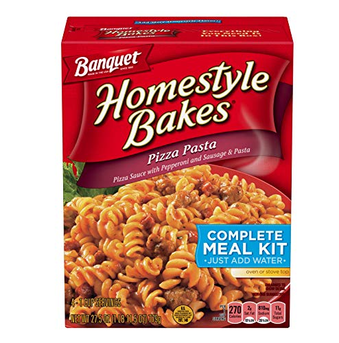 Banquet, Homestyle Bakes, Pizza Pasta, 27.5oz Box (Pack of 3)