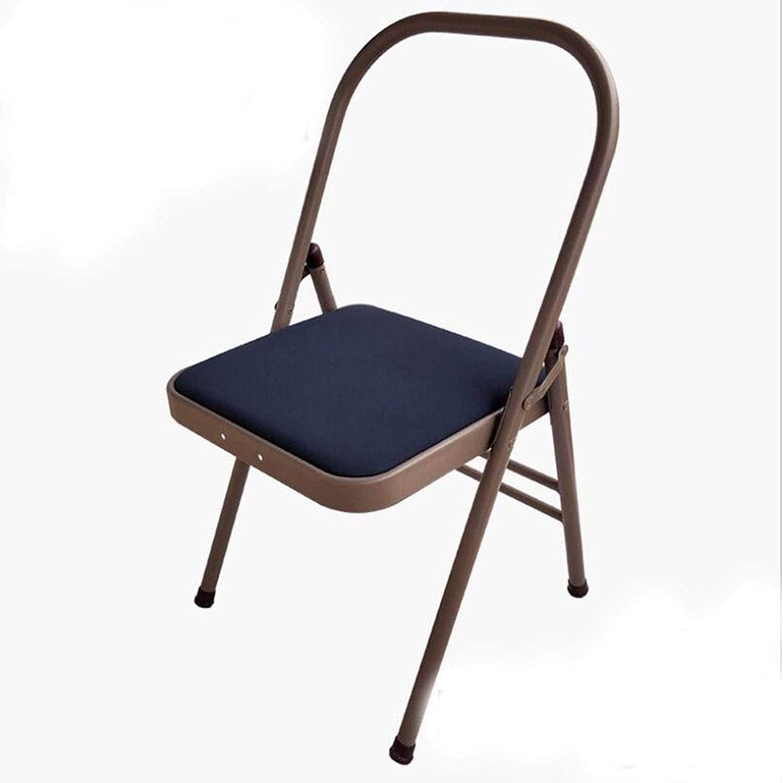 FITNESS-HU Yoga Stuhl Iyengar Yoga Stuhl PU Klapp Yoga Stuhl Hilfsmittel Stuhl Requisiten Praxis Krperaktivitt