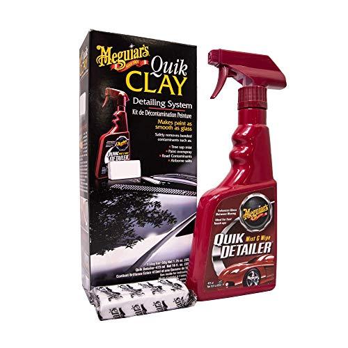 Meguiar\'s ME G1116 G1116EU Quik Clay Starter Kit Reinigungsknete