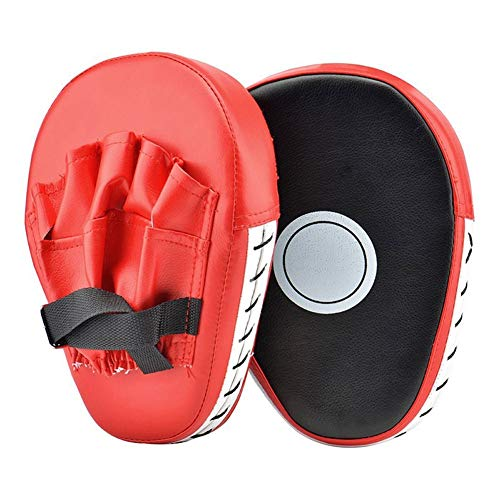 One Pair Boxing Mitts Training Target Focus Punch Pads Glove Karate Muay Kick 03