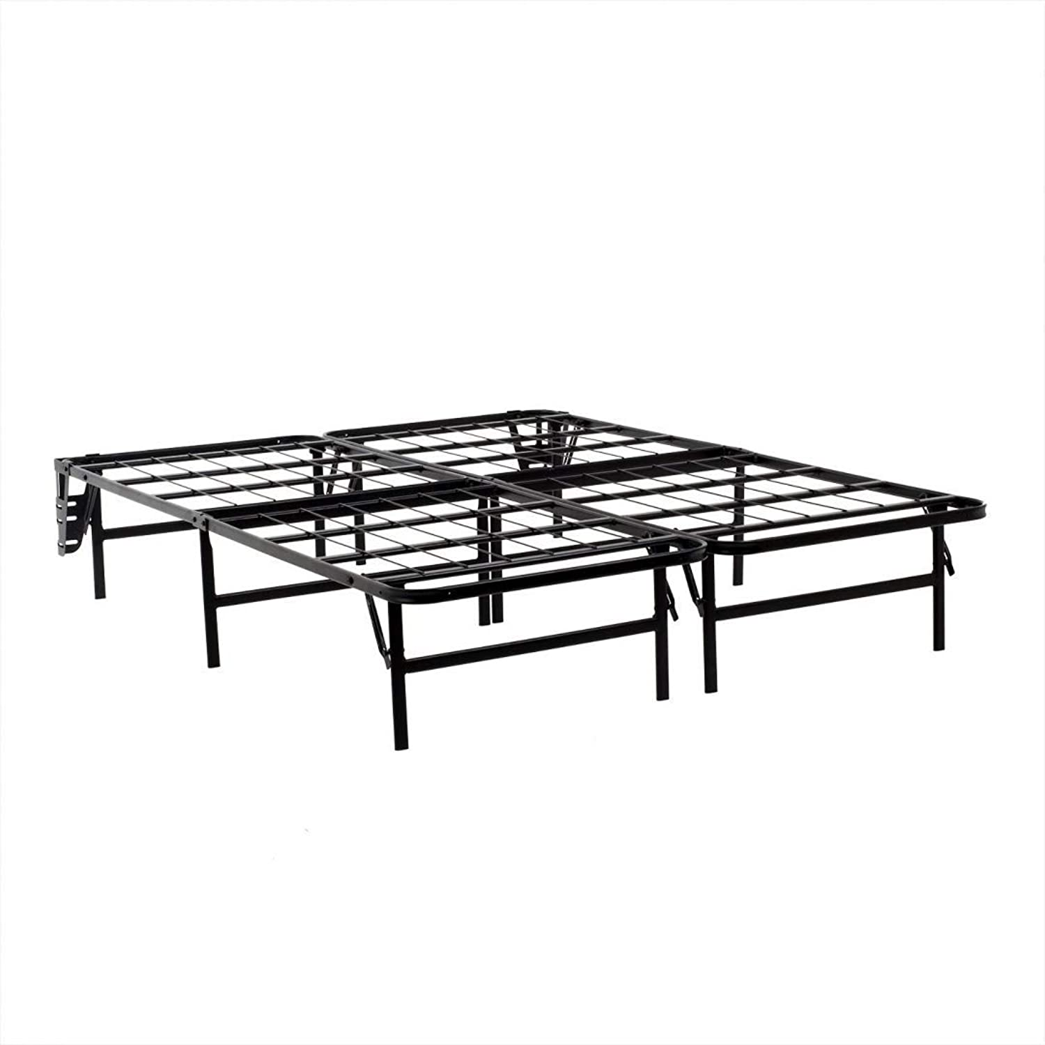 MALOUF Structures Highrise LT Foldable Bed Base, Platform Bed Frame and Box Spring in One, No Assembly Required, Twin X-Large
