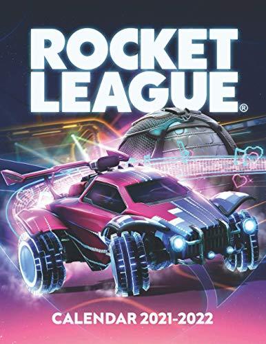 Rocket League Calendar 2021-2022: Calendar for Fans - 2 Years Calendar (2021-2022)