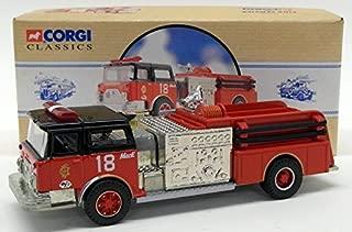 Corgi 1/50 Scale Model Fire Engine 98484 - Mack CF Pumper:- Chicago