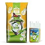 Eggersmann EMH Mash + EMH Direkt – Apoyo digestivo, metabolismo e inmunológico – Saco de 15 kg y botella de 1 L