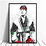 XuFan Julio Cesar Chavez Boxing Star Sports Canvas Poster Wall Art Print Kids Decor Home Decor Wall Decor Canvas painting/50X70cm-No Frame