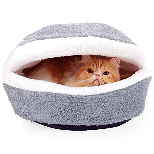Sac de couchage pour animaux de compagnie chat corail
