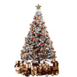Topashe Material PVC Árbol de Navidad Artificial Arboles Plástico,Árbol de Navidad de Lujo, Adornos navideños-3 Metros,Árbol de Navidad Artificial PVC Resistente al Fuego