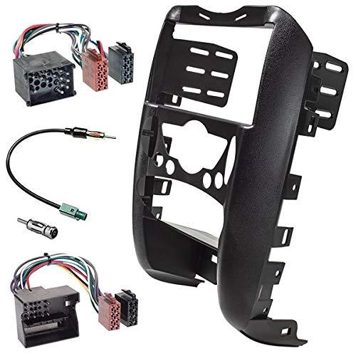 Sound-Way - Kit de Montaje Marco para Radio Pantalla 2 DIN Adaptador para Mini Cooper - KA11-179