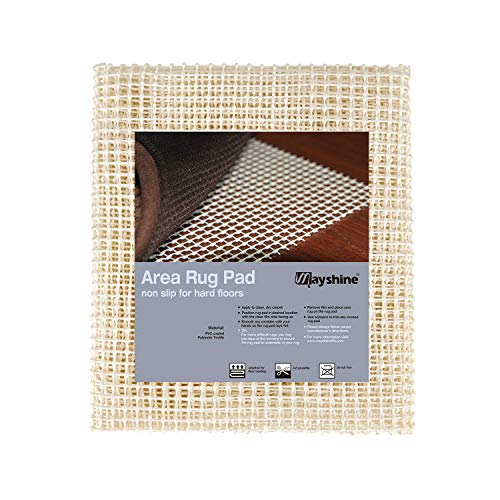 MAYSHINE 150x230 cm Non-Slip Area Rug Pad Mat Underlay Multipurpose for Hard Surface Floor
