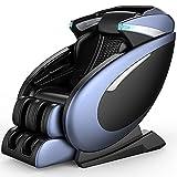 QQ HAO Silla De Masaje De Gravedad Cero 3D, Sillón De Cuerpo Completo, Sillón De Shiatsu, Sofá Multifuncional,Azul