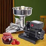 Máquina eléctrica de 450 W, prensa de tomates, pasapures, exprimidor de tomates, exprimidor eléctrico (490 x 230 x 345 mm)