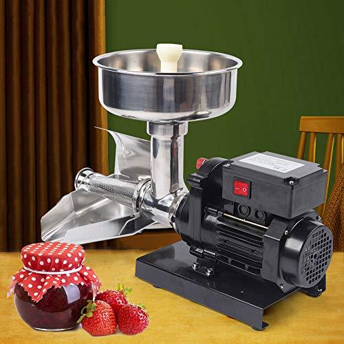 Máquina eléctrica de 370 W, prensa de tomates, pasapures, exprimidor de tomates,...