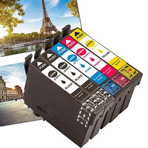 Karl Aiken - Cartuchos de Tinta para impresoras Epson 29 29 XL (29 XL, 5 Unidades) para Epson Expression Home XP-245 XP-342 XP-442 XP-235 XP-335 XP-255 XP-452 XP-352 XP-455 XP-345 XP-432 XP-247