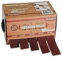 PSI Woodworking PKSPSET5 Penturner's 5-Roll Multi Pack Sanding Set
