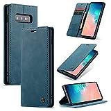 for Samsung A91 / S10 Lite Cas de téléphone Mobile magnétique élégant, Deux en Un Cuir de Haute...